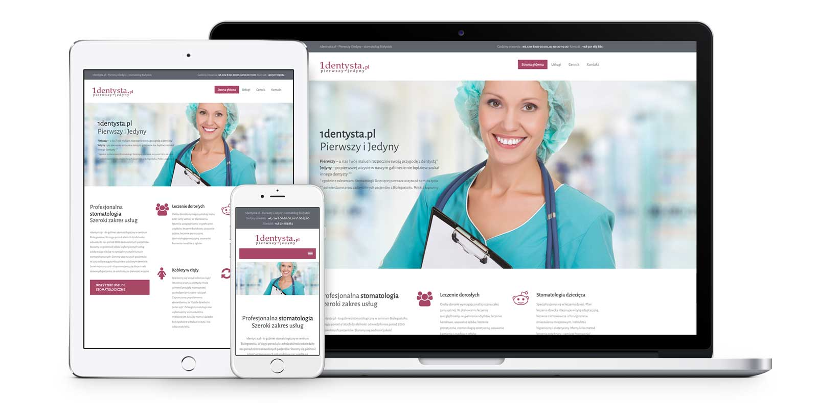 1dentysta wordpress